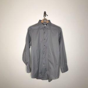 "Lorenzo Uomo ""The Perfect White shirt"" 17  32/33"